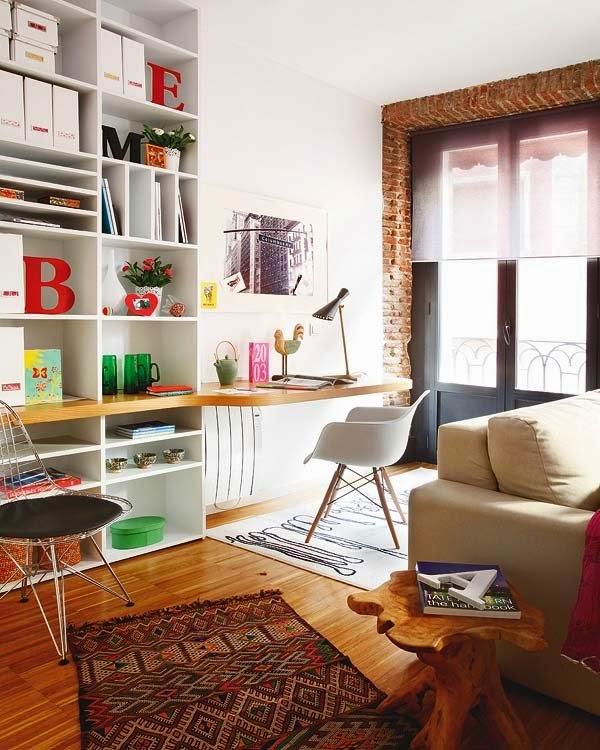 Un appartamento eclettico a Barcellona