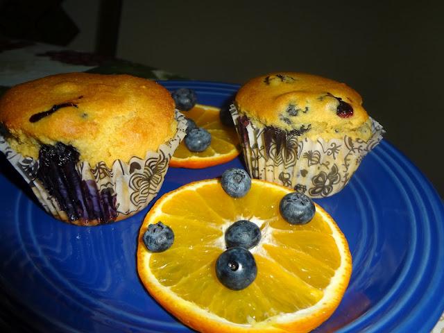 Orange Bluberry Muffins