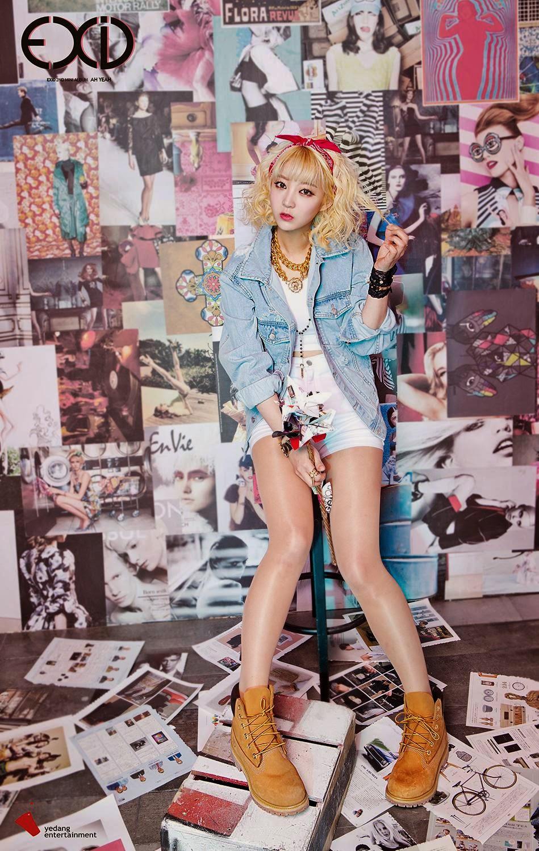 Hyerin Ah Yeah Concept