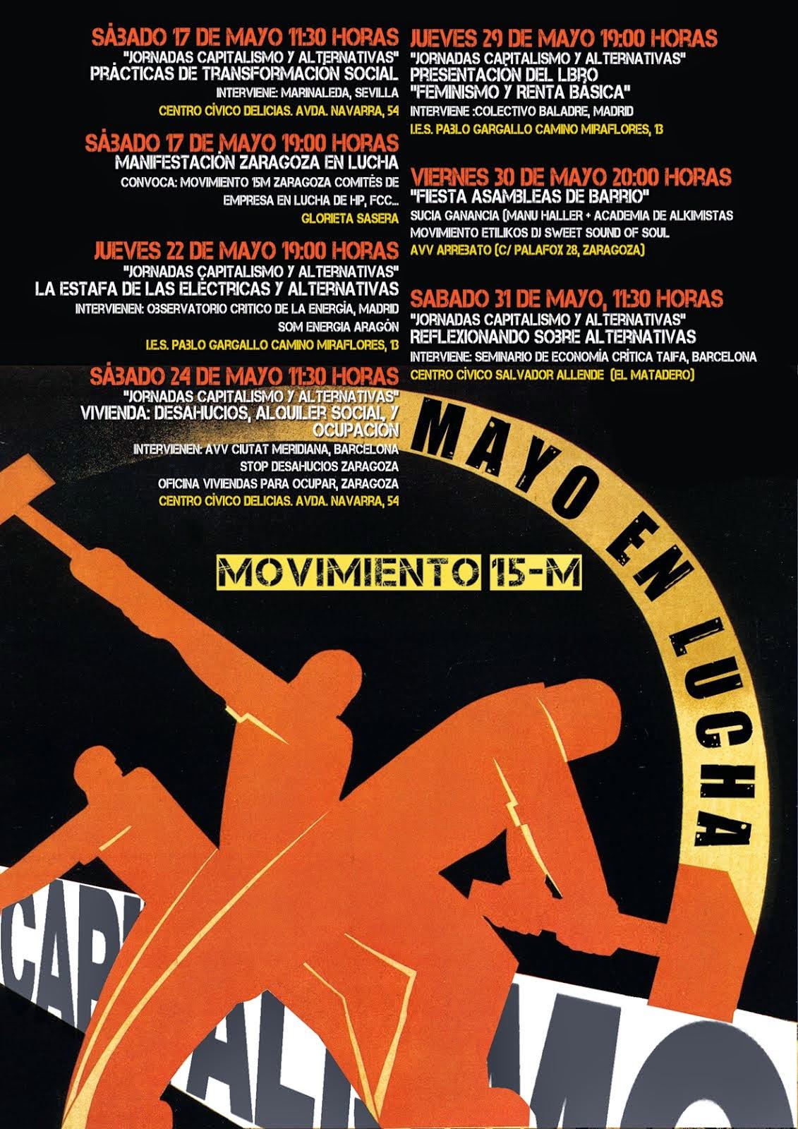 Mayo en Lucha