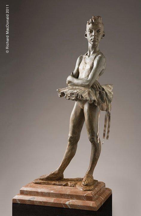 Richard MacDonald 1946 | American figurative sculptor | The Dancers