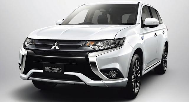 New Mitsubishi Outlander PHEV Facelift