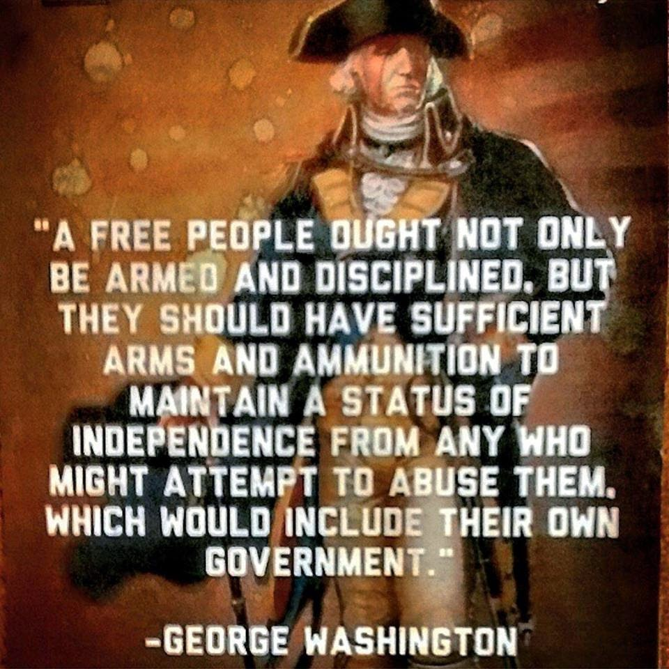 2Nd Amendment Quotes Blue's Blog A Free People Ought Not Only Be Armed.