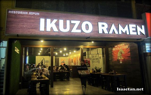 Ikuzo Ramen SS2 Petaling Jaya