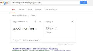 Terjemahan langsung
