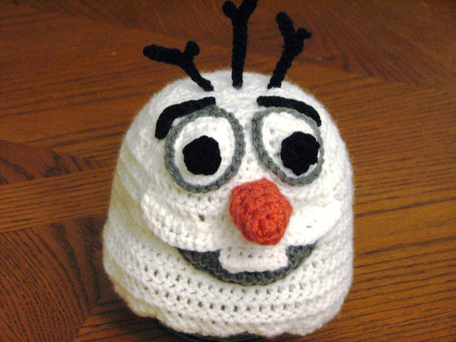 Amigurumi Patterns Olaf : Olaf crochet hat pattern free dancox for