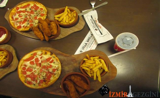 pizza villa lüx menü