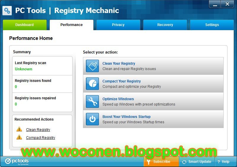 PC Tools Registry Mechanic 2012 FULL serial number PC Tools Registry Mechan