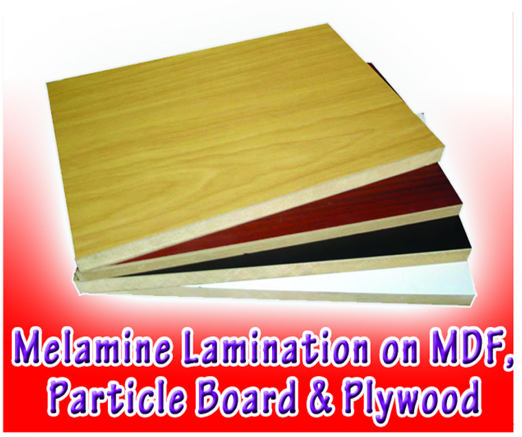 White Laminated Particle Board ~ Westbay multi resources inc your building materials
