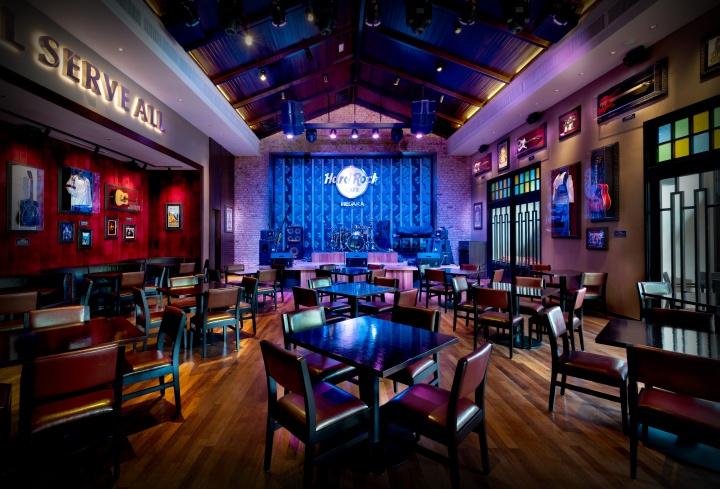 Hard Rock Hotel Penang Cafe Menu