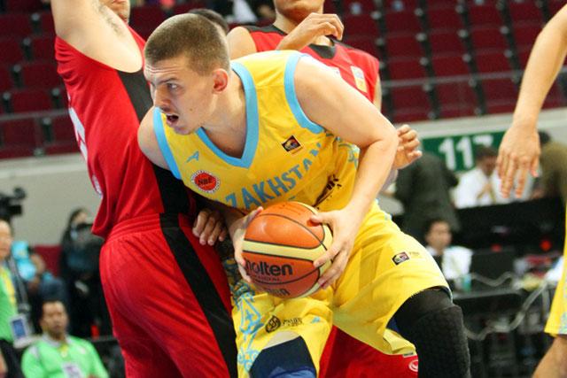 FIBA Asia Anton Ponomarev of Kazakhstan basketball team