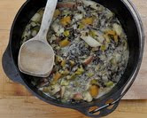 October - Creamy Wild Rice Soup