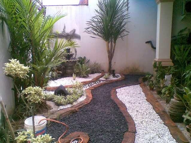 desain taman rumah minimalis 1