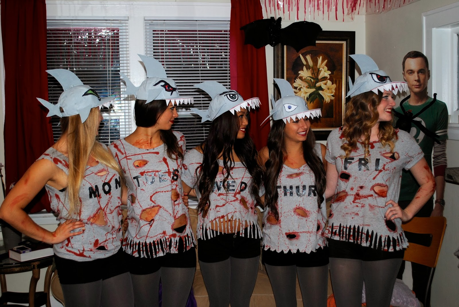 sc 1 st  That Flour Child & That Flour Child: Shark Week Halloween Group Costume