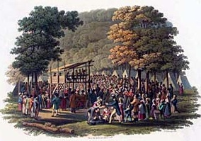 EARLY HISTORY OF CAMP <b>MEETINGS<br>AND ASSEMBLIES</b>