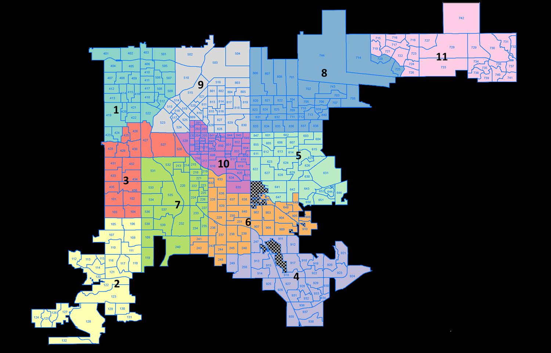 Denver District Map City Council