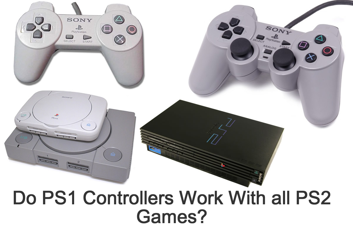 Do All Ps1 Controllers Fully Work With Ps2 Games Fitama Sony Playstation 2 Controller Since The Plugs Are Same For Both And Game Consoles They Multi Compatible Each Other Which Is Very Convenient