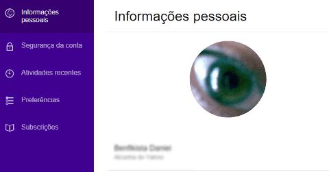 Como mudar a foto de perfil Yahoo