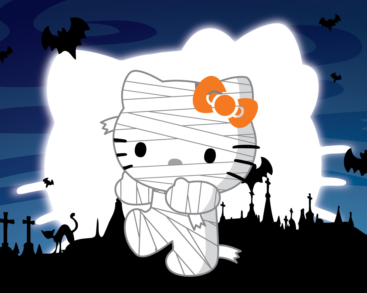 2016 halloween backgrounds - Hello kitty halloween ...