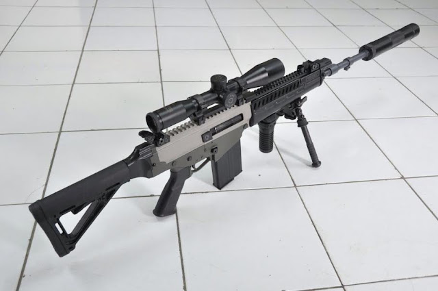 Alasan Pindad Rancang Senapan kaliber Sekelas AK47