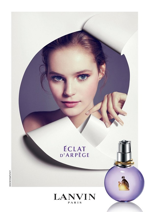 Reklama perfum Lanvin Eclat d'Arpege