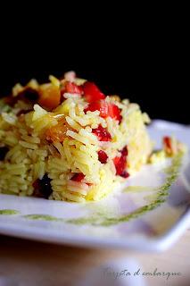 Kahsmiri pulao arroz con fruta