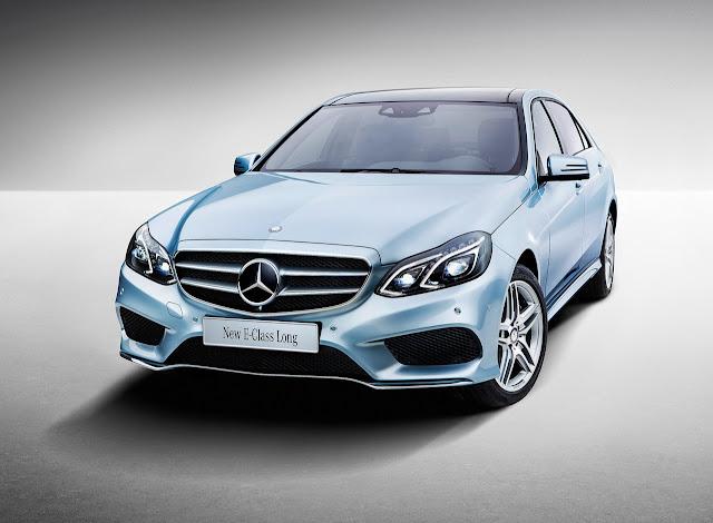 2014 Mercedes-Benz E-Class L: China Gets a Stretched E-Class.