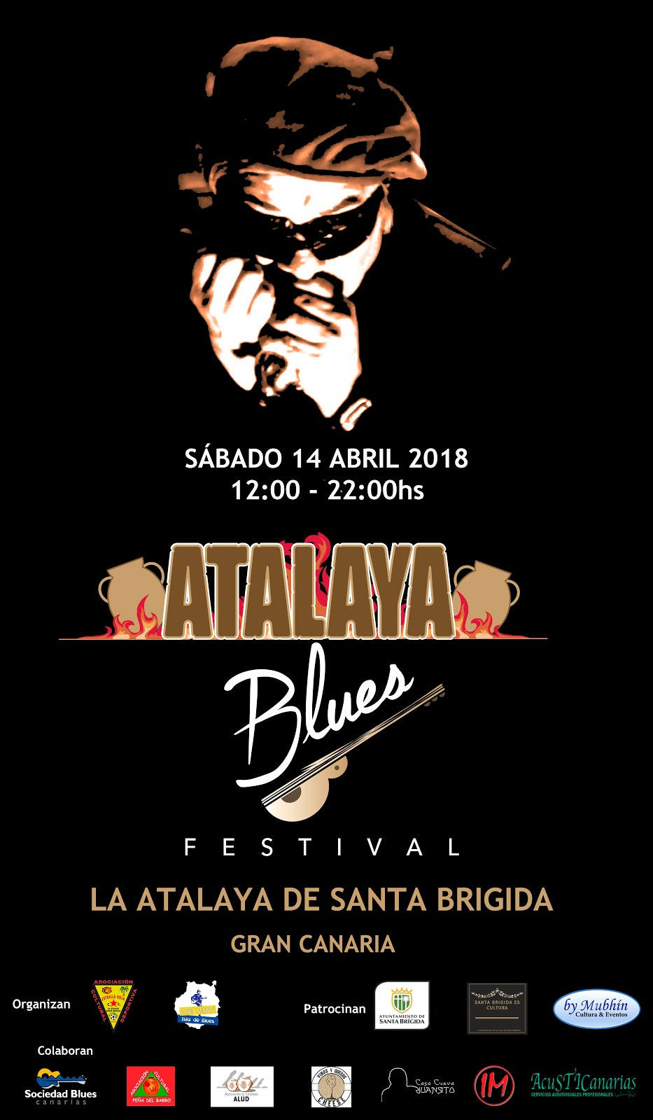 ATALAYA BLUES. Sábado 14 de Abril 2018