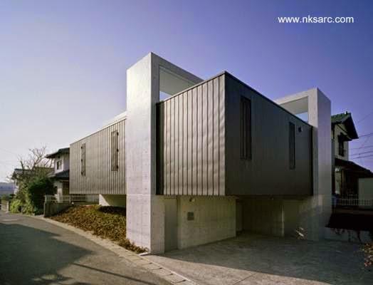 Casa residencial vanguardista japonesa en Fukuoka
