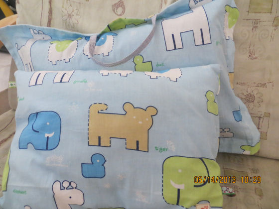 Kids ribbon pillow