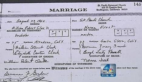 أميركيان يكتشفان انهما غير متزوجين بعد نصف قرن !!!!