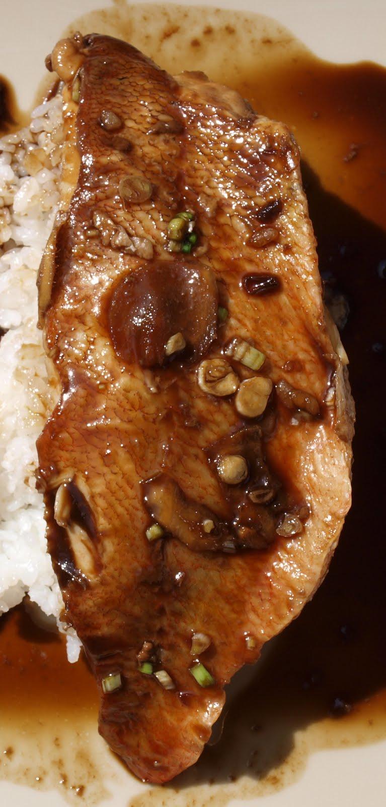 La casserole filet de rascasse sauce soja riz japonais - Recette riz japonais ...