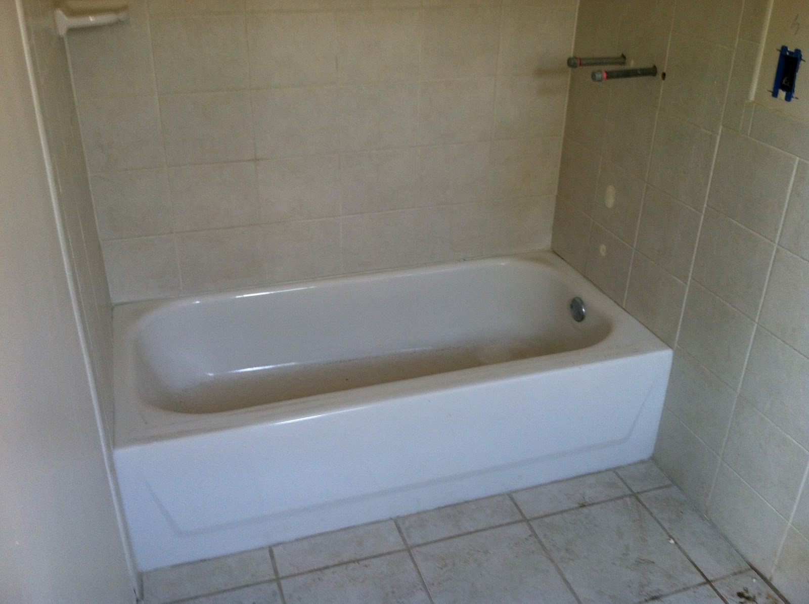 The Tub Is Being Replaced With A 3x5 Shower For Our Guests