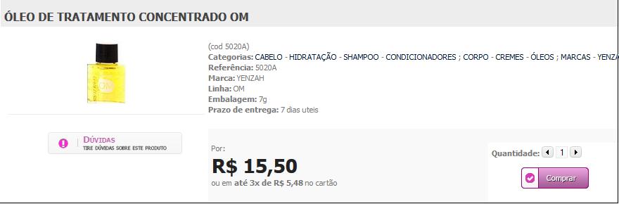 http://www.lindamargarida.com.br/OLEO-DE-TRATAMENTO-CONCENTRADO-OM/prod-1959674/