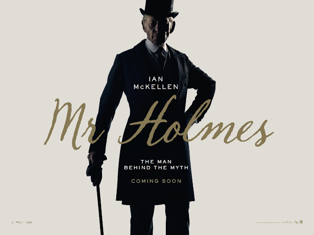 Sir Ian McKellan as Sherlock Holmes in the Mr. Holmes Quad Poster