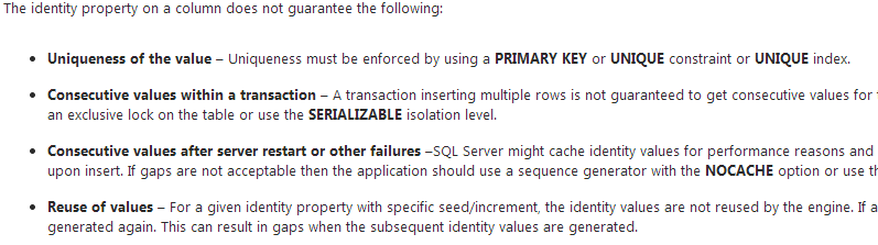 create table sql server 2008 primary key autoincrement