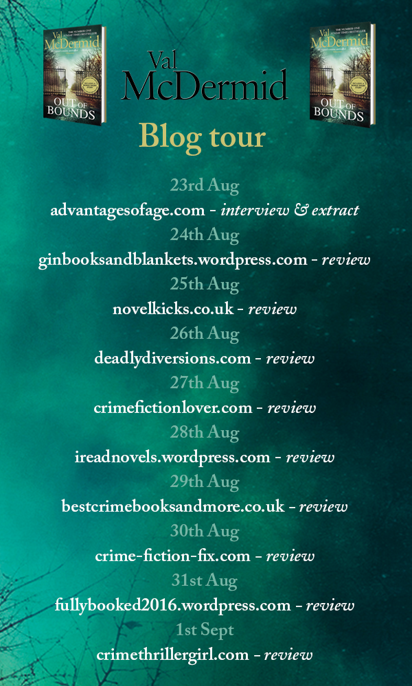 Blog Tour...Out Of Bounds