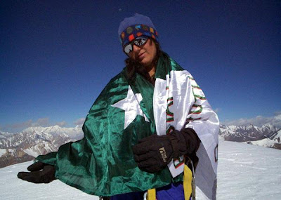 Congratulations Samina Baig on becoming the first Pakistani woman to scale Mount Everest