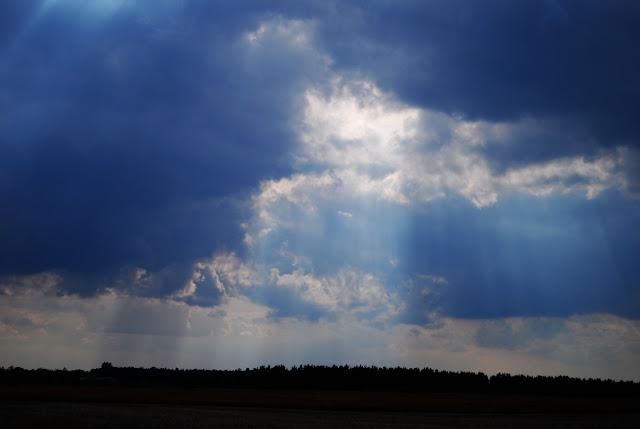 Himmel über der Provinz