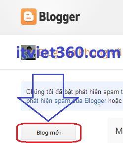 Hướng dẫn cách tạo, làm quen với Blogspot, blog mới