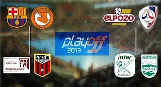 FÚTBOL SALA-Playoffs Liga española