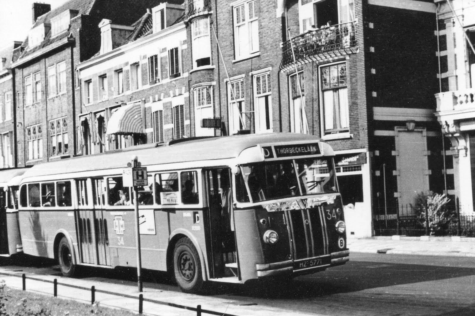 De Autobussen van de HTM van Kromhout-Verheul TB-6C