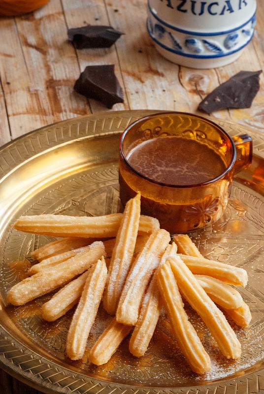 churros - receta tradional