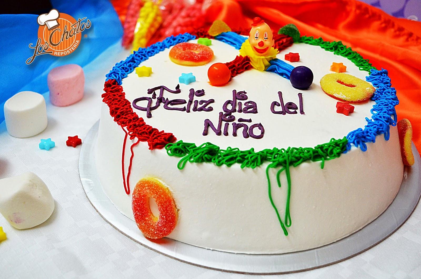 Repostería Los chatos: Día del Niño, pasteles y detalles ...