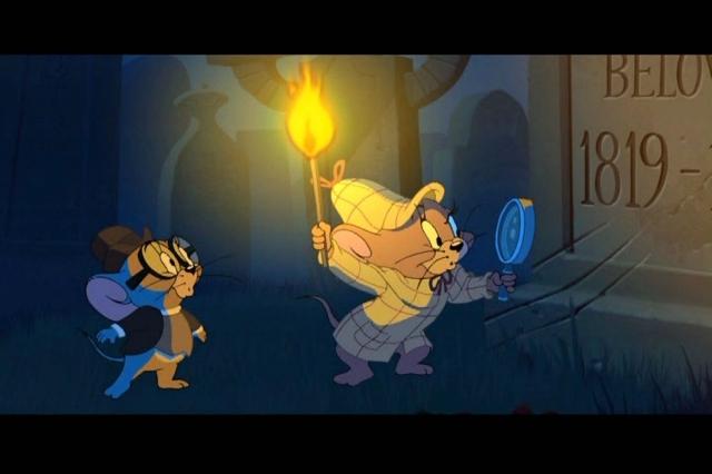 Hình ảnh phim Tom Và Jerry Gặp Sherlock Holmes