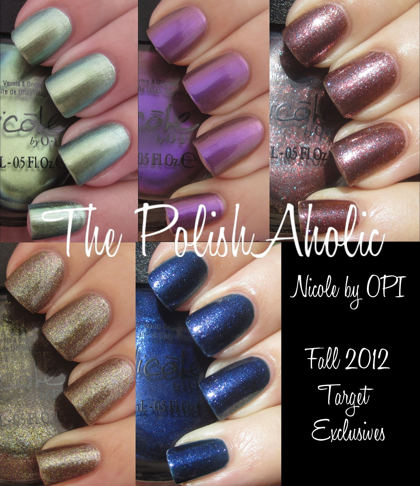 The PolishAholic: Nicole by OPI Fall 2012 Target Exclusives