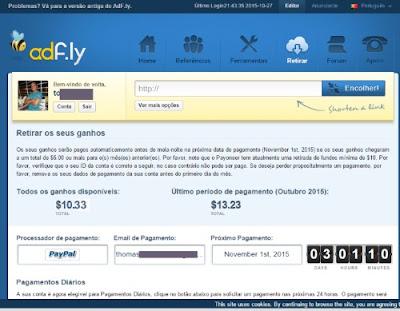 AdF.ly pagamento outubro