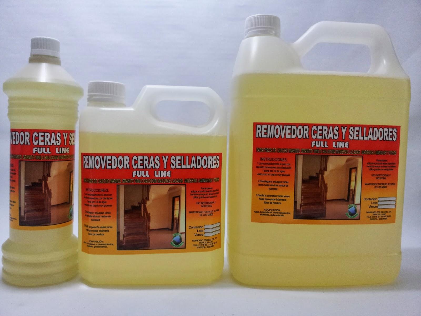 Cera autobrillante selladores y shampoo varsol l nea for Liquido para limpiar marmol