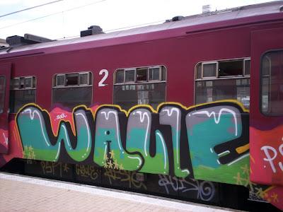 graffiti waule