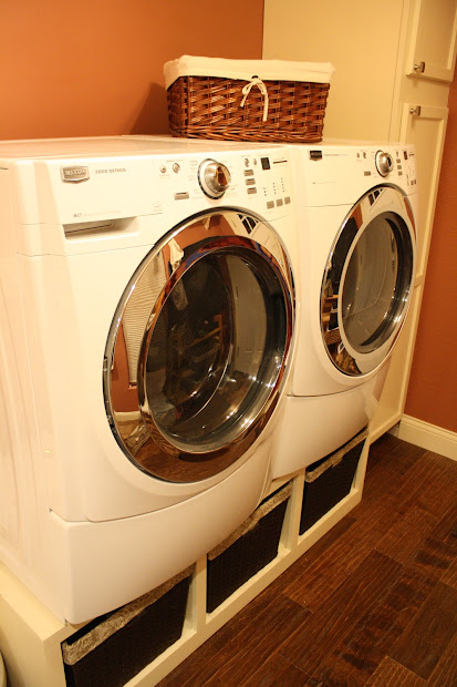 DIY Washer and Dryer Riser